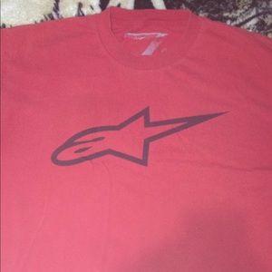 Alpine stars dirtbike t shirt